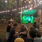 1 Tahun Break Point Cafe, Live Musik Hibur Pengunjung Sambil Ngopi