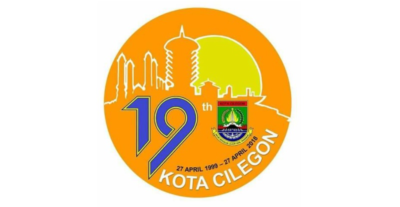 Logo Hut Cilegon Ke 19 Dikenalkan Di Medsos Netizen Kenapa Tak Disayembarakan Faktabanten Co Id